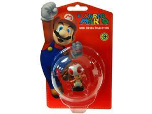 """Super Mario Bros. Nintendo 2"""" Wave 3 Figure Toad"""
