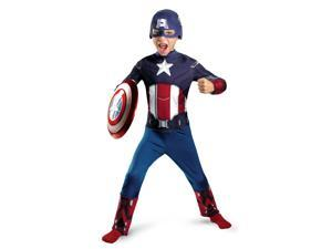 The Avengers Captain America Classic Costume Jumpsuit Child Toddler