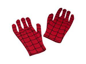 Spiderman Classic Adult Short Red Costume Gloves