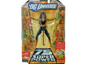Dc Universe Collect & Connect Figure Cheetah W/Black Outfit