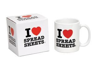 I Heart Spreadsheets Coffee Mug