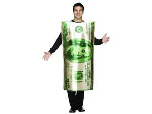 $100 Hundred Dollar Money Bill Cash Costume Adult Standard