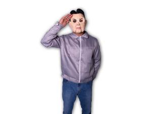 Kim Jong-Il North Korea Leader Jacket Costume w/Mask Adult Large