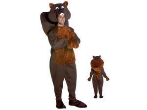 Nice Beaver Adult Costume
