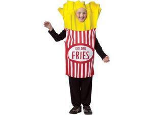 French Fries Costume Child