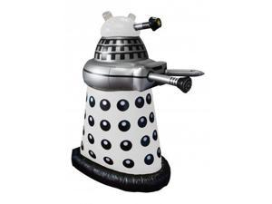 """Doctor Who Small Inflatable 30"""" Desk White Dalek"""