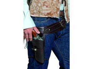 Western Cowboy Authentic Holster & Belt Adult Costume Set