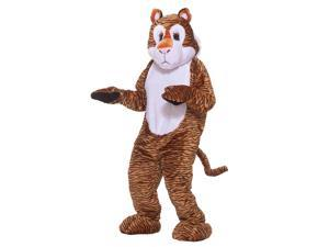 Deluxe Tiger Adult Mascot Costume
