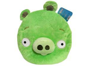 """Angry Birds Plush 12"""" Backpack: Green Pig"""