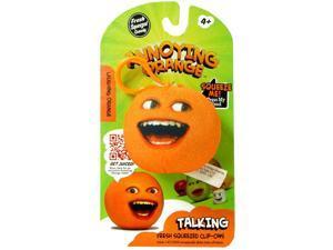 """Annoying Orange 2.25"""" Talking Plush Clip On: Laughing Orange"""
