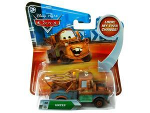 Disney Pixar Cars 1:55 Die Cast Vehicle With Lenticular Eyes: Mater