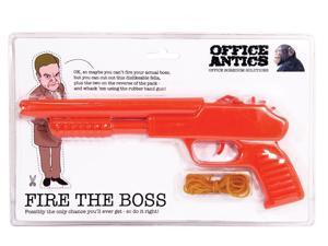 Fire The Boss Rubber Band Gun