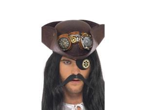 Steam Punk Costume Pirate Eye Patch With Cog One Size