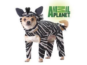 Animal Planet Zebra Dog Pet Costume Small
