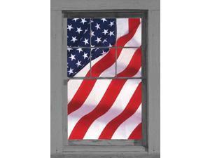 United States Of America Flag Full Size Window Sticker