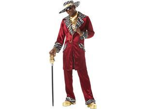 Sweet Pimp Daddy Beaujolais Costume Adult Medium 40-42