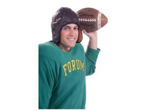 Vintage Football Helmet Adult Male Costume Accessory One Size