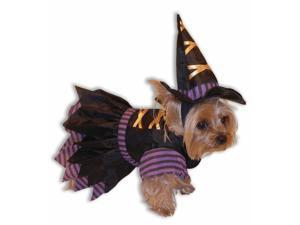 Witch Dog Cat Pet Costume Large