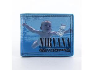 Nirvana Nevermind Cover Bi-Fold Wallet
