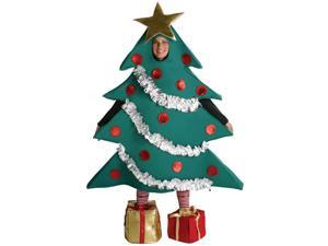 Christmas Tree Costume With Shoe Boxes Adult