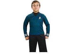 Star Trek Movie Deluxe Spock Blue Shirt Costume Child