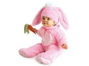 Lil' Wabbit, Rabbit Pink Bunny Baby Costume Newborn