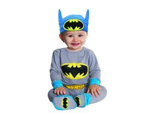 Batman Grey & Blue Onesie Costume Infant