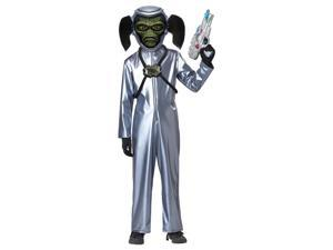 First Contact Alien Jumpsuit Costume Child Large 10-12