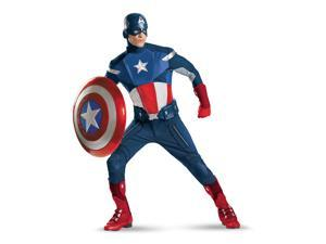 The Avengers Captain America Theatrical Quality Costume Adult X-Large 42-46