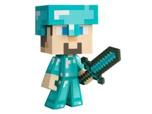 "Minecraft Diamond Steve Vinyl 6"" Figure"