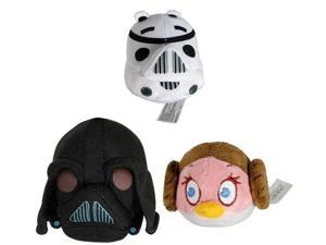 "Angry Birds Star Wars 12"" Plush: Set Of 3"