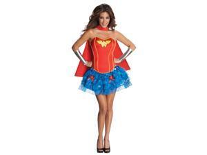 Wonder Woman Sexy Corset Dress Adult X-Small 0-2