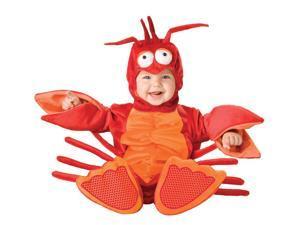 Lil Red Lobster Jumpsuit Designer Costume Child Toddler 12-18 Months