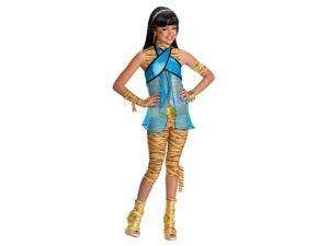 Monster High Cleo De Nile Costume Child Medium 8-10