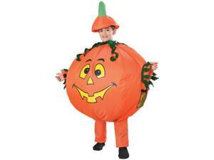 Inflatable Pumpkin Child Costume Standard