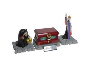 Disney Snow White Evil Queens Heart Box & Statue Collectible Set by EFX