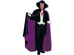 Super Deluxe Satin Costume Cape Purple