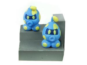 Super Mario Galaxy Desk Top Figure Gachaball Electro-Goomba