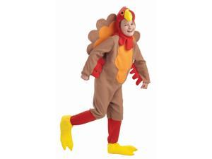 Child Fleece Turkey Costume Small 4-6
