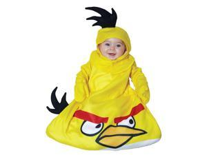 Angry Birds Yellow Bird Infant Costume 0-9 Months