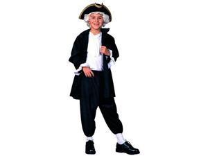 George Washington President Colonial Costume Child Small 4-6