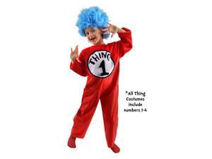 Dr. Seuss Thing Costume Child Medium 8-10