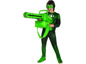Gree Lantern Inflatable Gatling Gun Costume Accessory Weapon