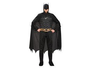 Batman Black Jumpsuit Costume Adult X-Large 44-46