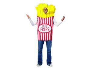 French Fries Costume Adult Standard