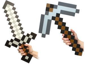 Minecraft Foam Sword & Pickaxe Set
