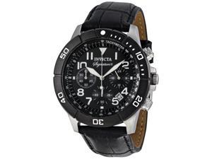 Invicta Signature II Chronograph Leather Mens Watch 7345