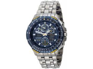 Citizen Blue Angels Skyhawk JY0050-55L Men's Eco-Drive Titanium Chronograph Watch