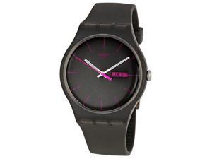 Swatch Rebel Brown Mens Watch SUOC700