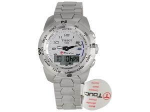 Tissot T-Touch Expert Stainless Steel Watch T013.420.11.032.00